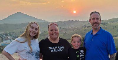 Picture of John Scrivner family